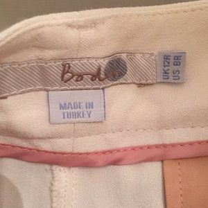Boden Skirts - BODEN Culottes Shorts Cream Rayon Sz 8 NEW